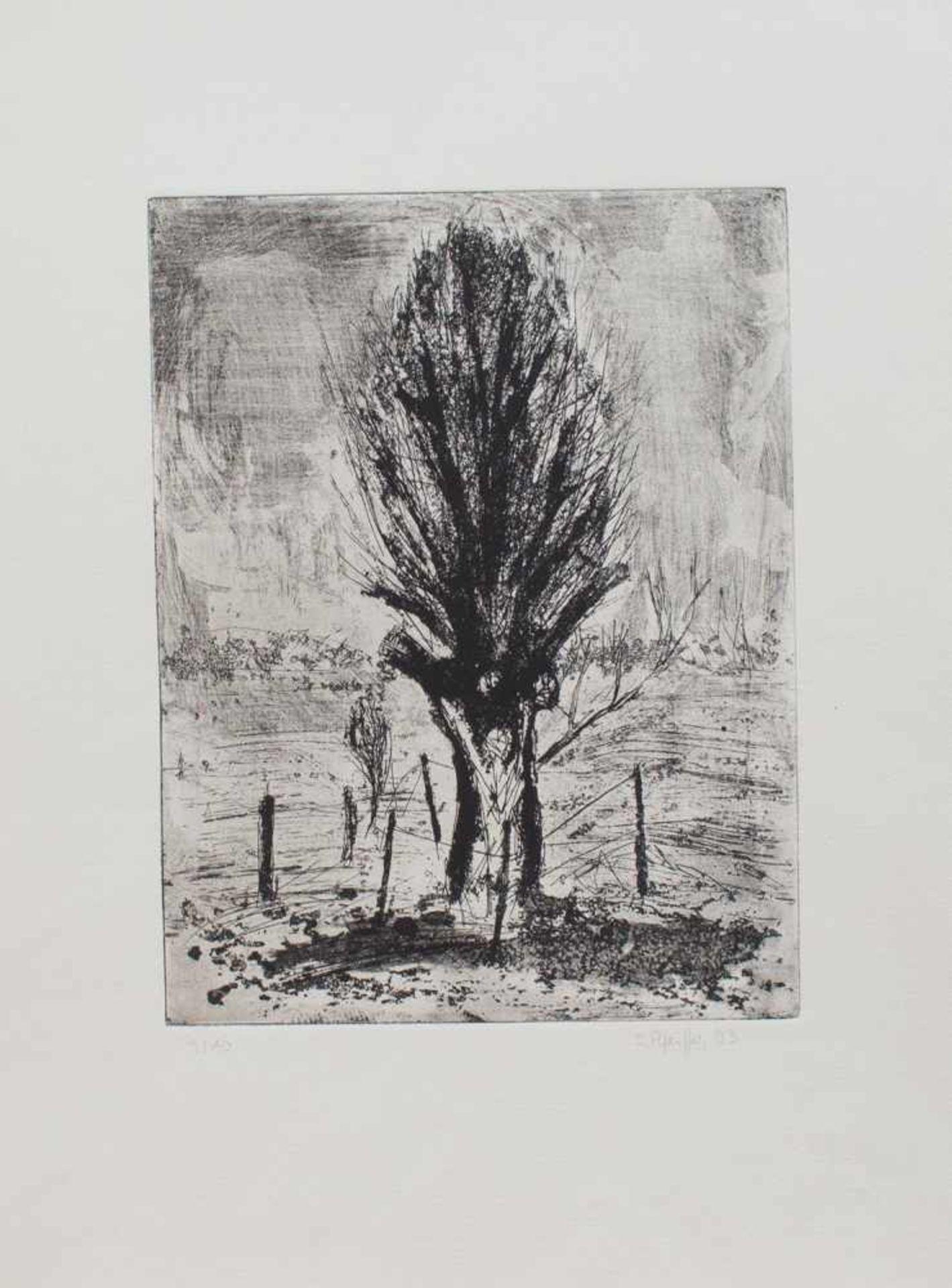 Los 38 - Susanne Pfeiffer (Greifswald 1947 - , deutsche Malerin u. Grafikerin, Autodidakt, Mitglied im