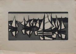 Rolf Curt (Senzig 1931 - 2006 Berlin, deutscher Maler u. Grafiker, Std. bei Max Pechstein, Schmidt-