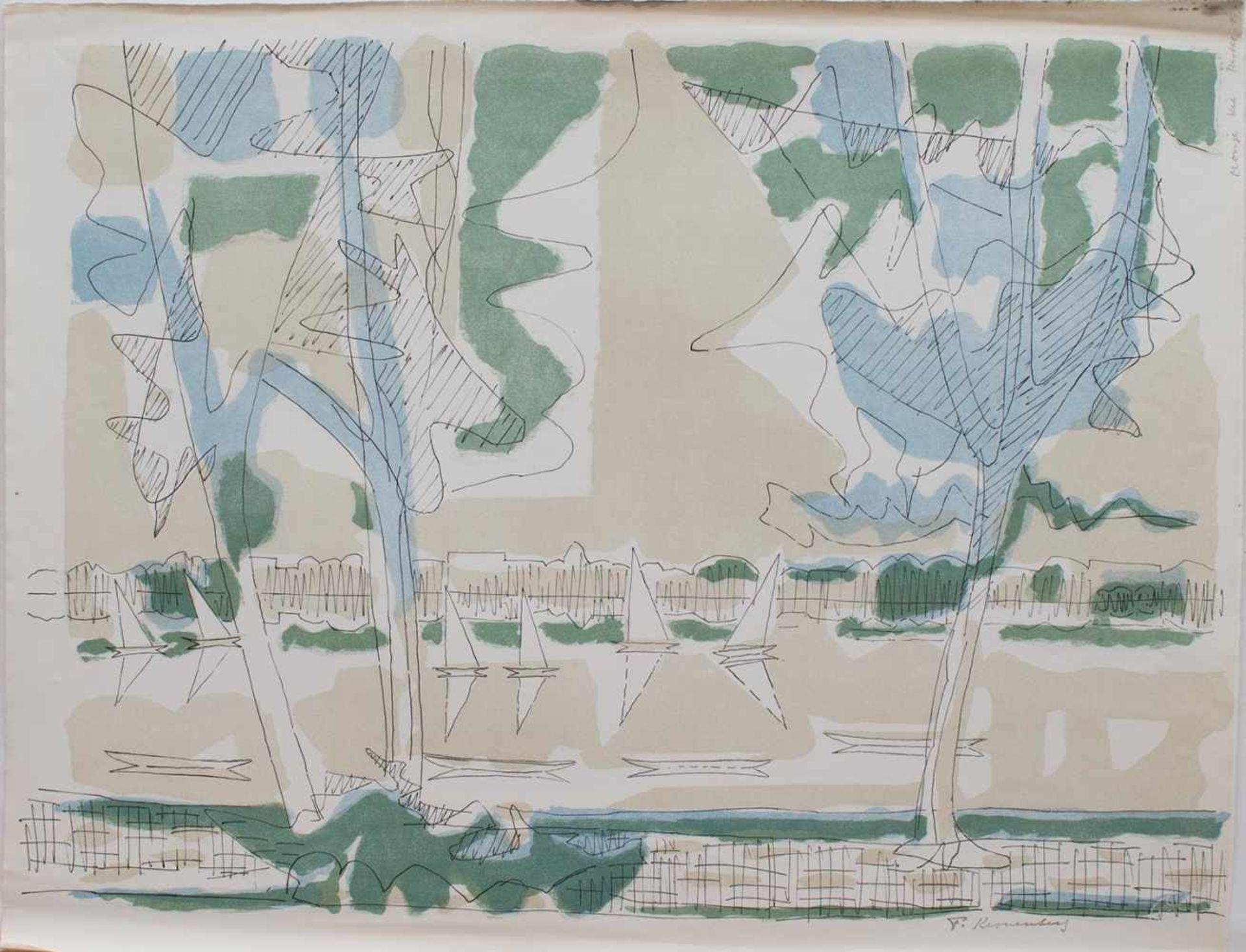 Los 18 - Fritz Kronenberg (Köln 1901 - 1960 Hamburg, deutscher Maler der Hamburger Sezession, Std. a.d. KA