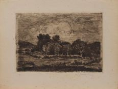 Walter Leistikow (Bromberg 1865 - 1908 Berlin, deutscher Maler u. Graphiker, Std. bei Hermann Eschke