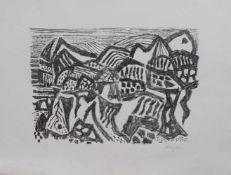 Eduard Bargheer (Hamburg 1901 - 1979 ebenda, Maler u. Graphiker, Vertreter d. klassischen Moderne,