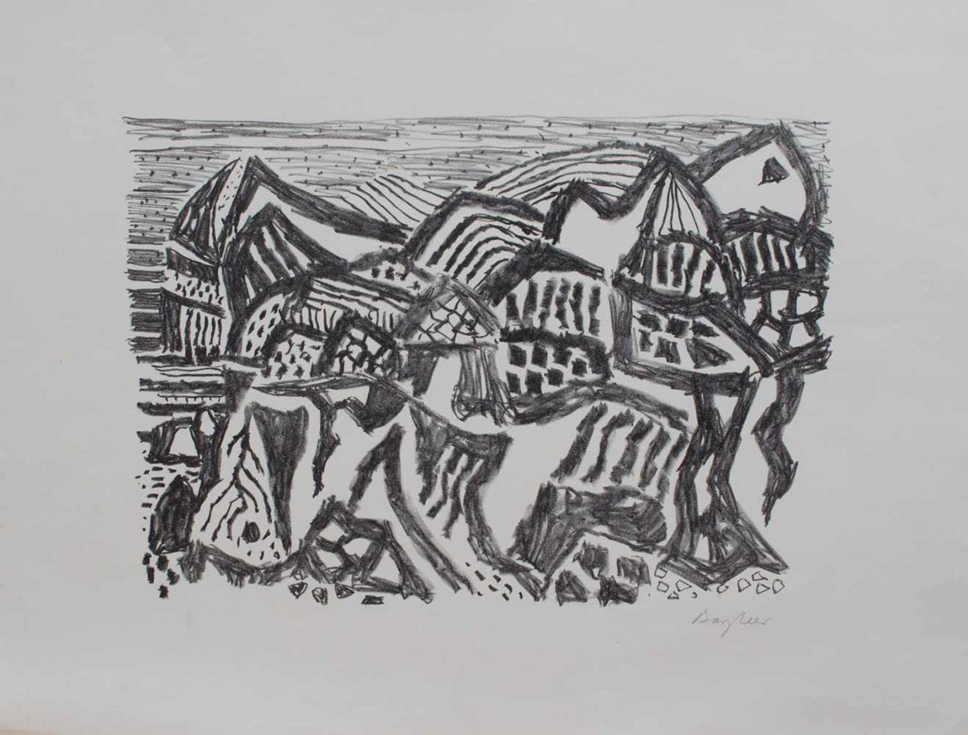 Los 1 - Eduard Bargheer (Hamburg 1901 - 1979 ebenda, Maler u. Graphiker, Vertreter d. klassischen Moderne,