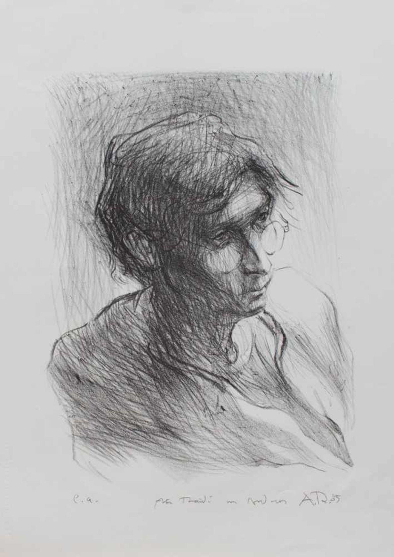 Los 60 - Ralf Winkler alias A.R. Penck (Dresden 1939 - 2017 Zürich, deutscher Maler, Grafiker u. Bildhauer,