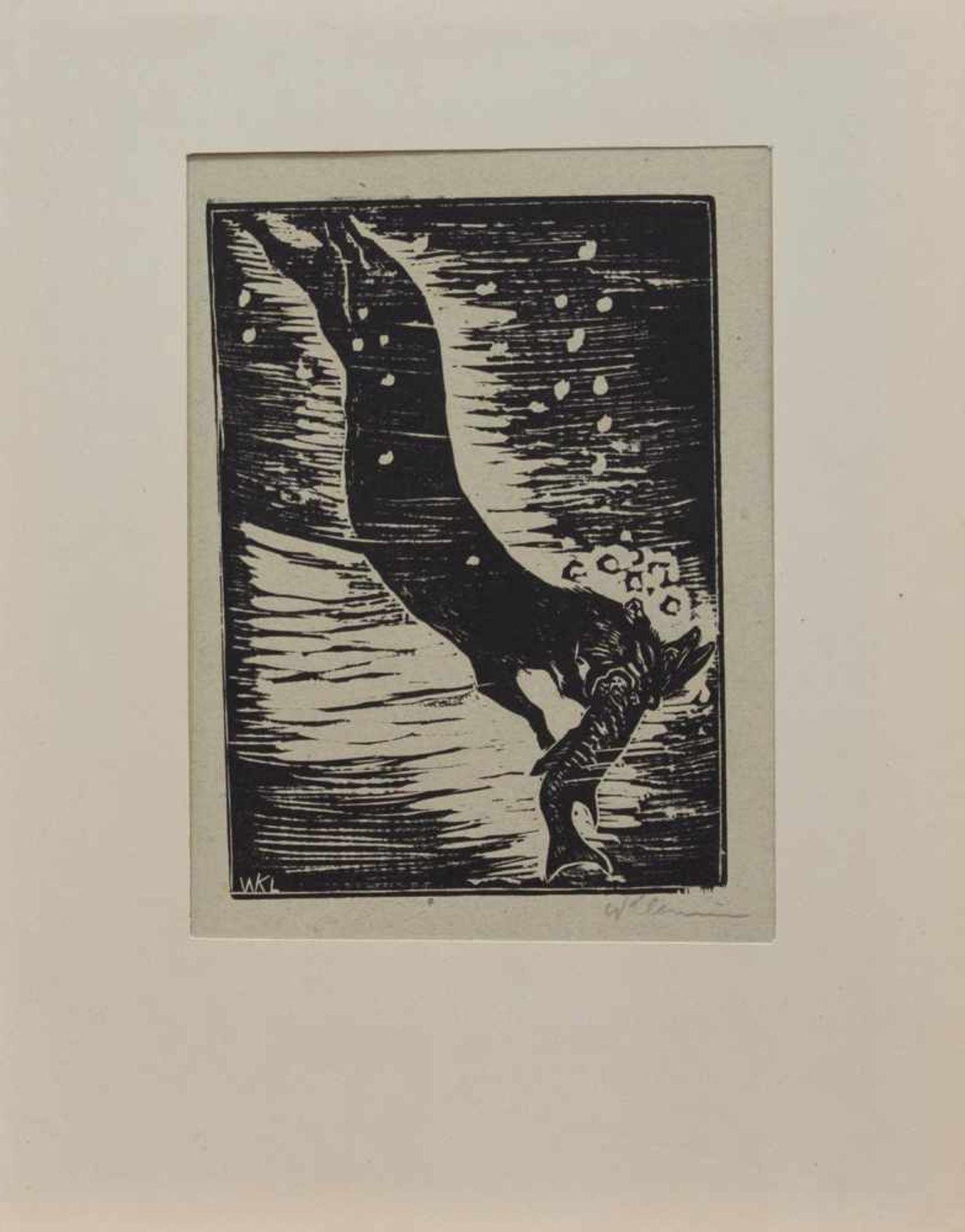 Los 19 - Walter Klemm (Karlsbad 1883 - 1957 Weimar, deutscher Maler, Grafiker u. Illustrator, Std. a.d.