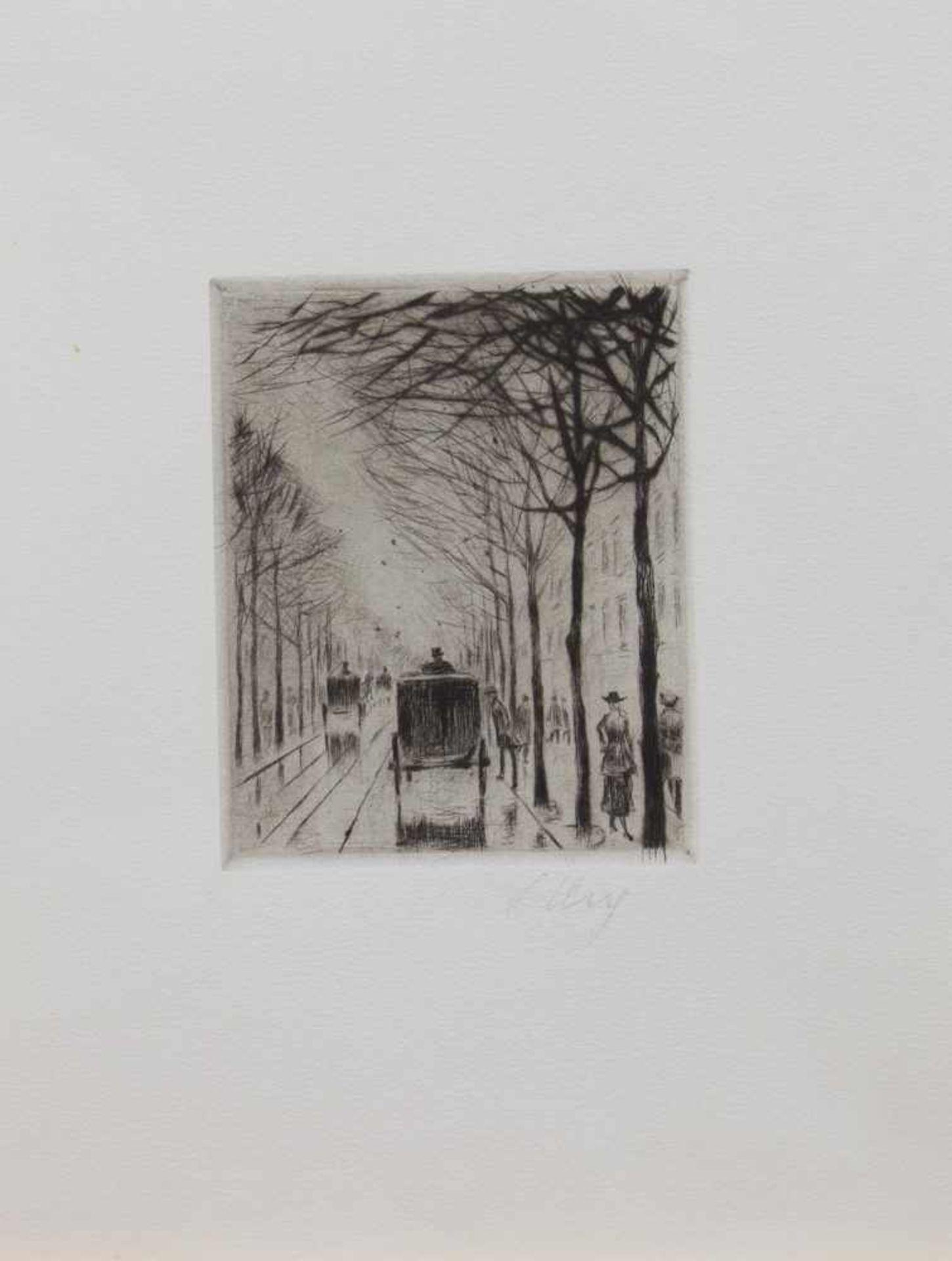 Los 53 - Lesser Ury (Birnbaum 1861 - 1931 Posen, deutscher Maler u. Grafiker, Std. a.d. KA Düsseldorf u. in