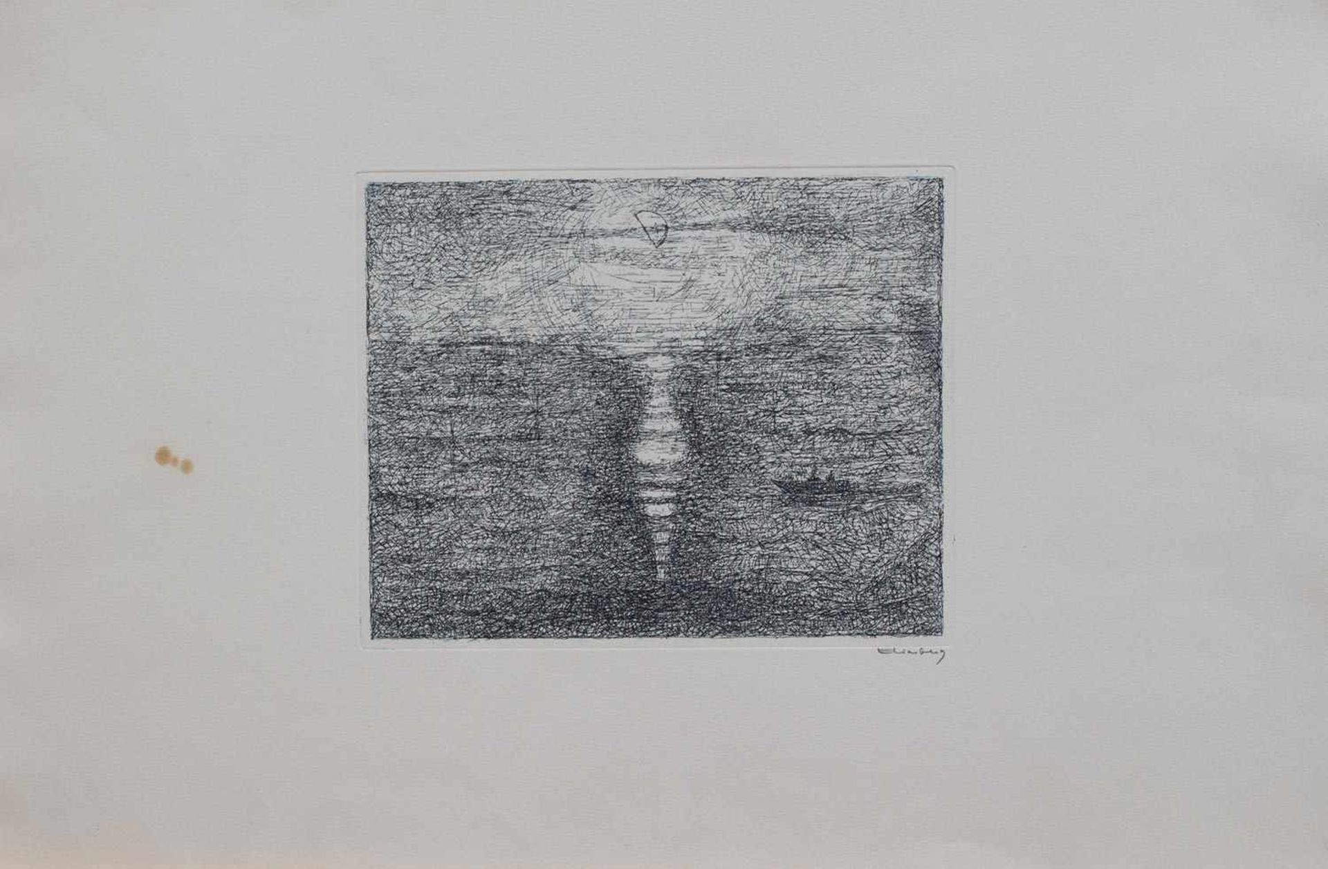 Los 17 - Paul Eliasberg (München 1907 - 1984 Hamburg, deutsch-französischer Graphiker, Std. i. Berlin u.