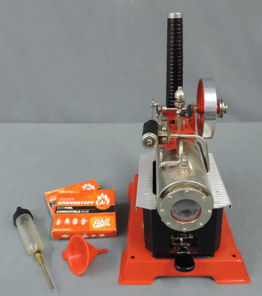 Blechspielzeug Wilesco D 14 Dampfmaschine