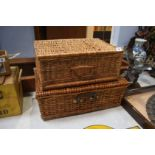 A Picnic hamper and one other