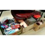 Various toys and boxes of assorted etc.