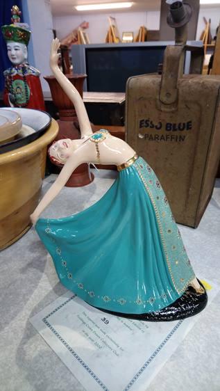 Crown Devon figure 'The Dancer'
