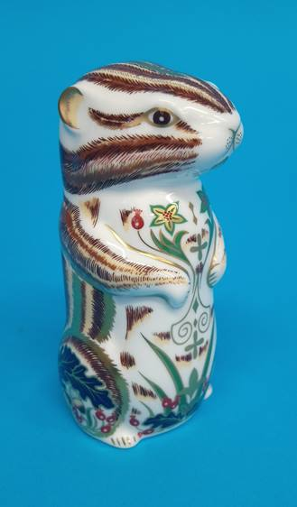 Five Royal Crown Derby paperweights 'Fox', 'Puppy' - Image 5 of 6