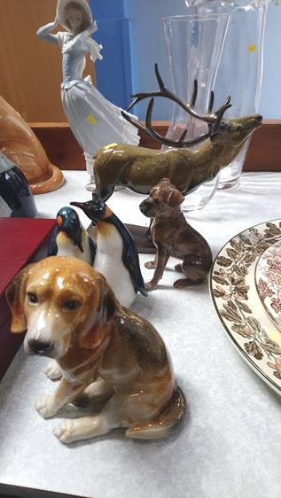 Aynsley animals etc.
