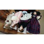 Four boxed Ashton Drake dolls