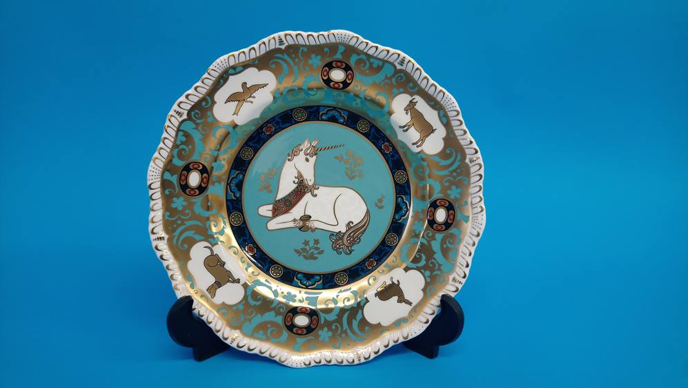 Two Royal Crown Derby plates etc. - Image 3 of 6