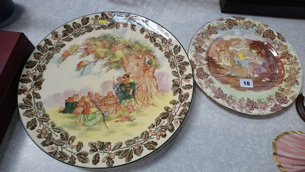 Royal Doulton 'Under the Greenwood tree' plate and