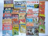 Lot 21 - QUANTITY OF WAR MAGAZINES, I-SPY BOOKS & OTHERS