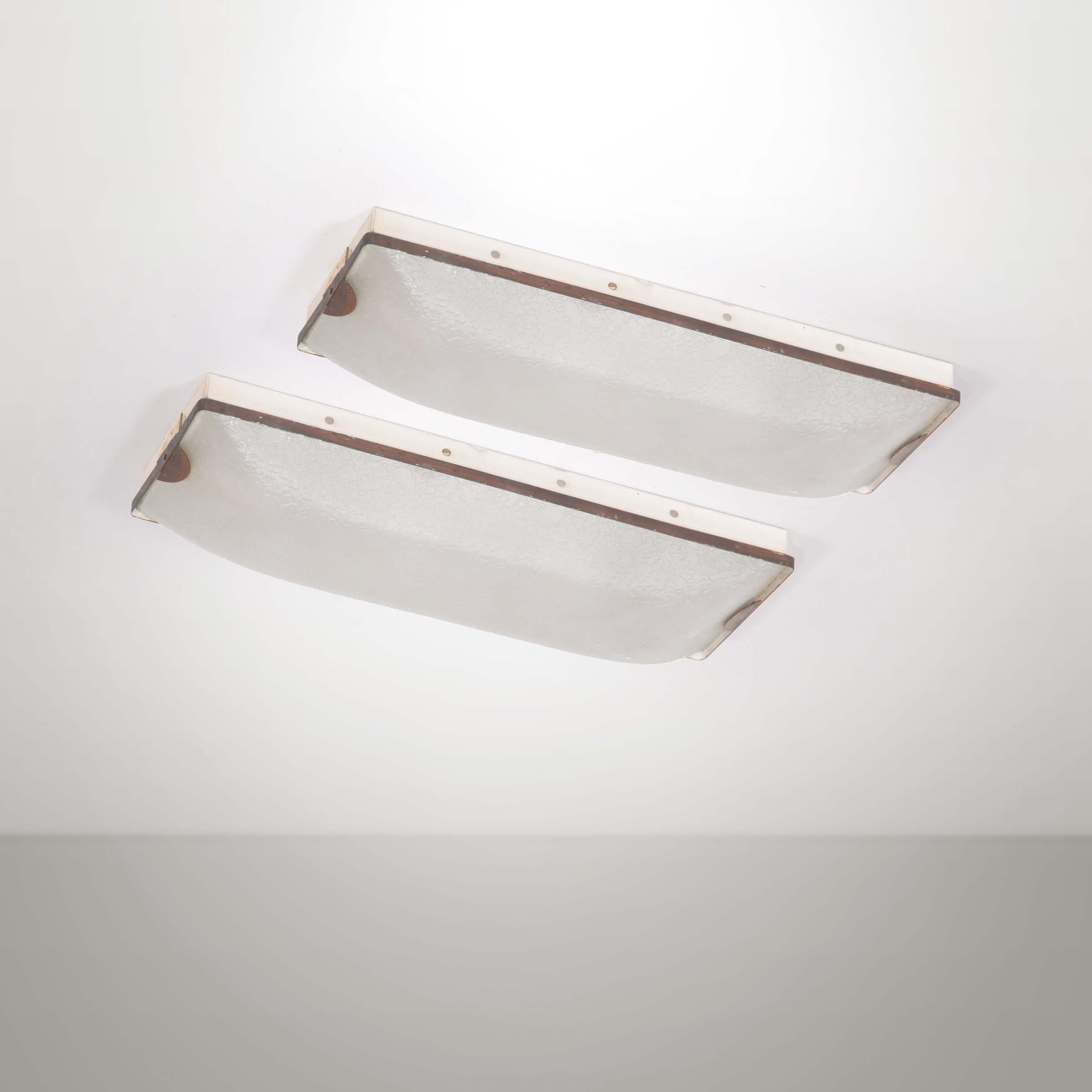 Plafoniera Ottone E Vetro : Vortice plafoniera in vetro curvo tre dimensioni