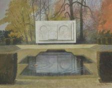 Clifford Bayly RWS (British 1927 - 1978) 'Ben Nicholson's Last Sculpture', depicting the 'White