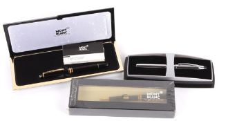 A Mont Blanc Meisterstuck 164 ball-point pen, in original sealed box, No.380045, together with a