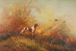 Eugene Kingman (America 1909 - 1975) two works entitled 'Flushing the Game Birds', oil on canvas,