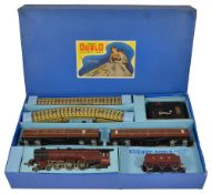 A Hornby Dublo Electric Passenger Train 'Duchess of Atholl'in original blue box with Loco,