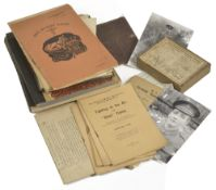 W.W.I memorabilia from R H Moore 2nd Lt Royal Irish Rifles and RAF,comprising hand written