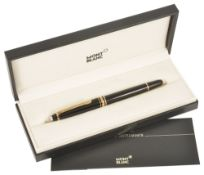 A Mont Blanc Meisterstuck Classic rollerball penin original boxlength: 13.8 cmCondition: Pen and box