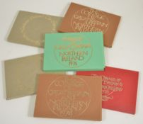 Seven sets of 1973, 1974, 1975 and 1976 Coinage of GB and NIeach set of six coins in original
