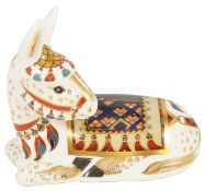 A Modern Royal Crown Derby figure of a 'Donkey'