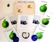 A collection of Apple paperwork