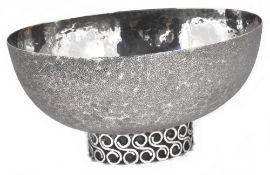 A Viennese Art Deco silver bowl, 1920s