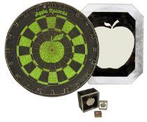 A small collection of Beatles Apple ephemera