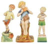 Three Royal Worcester figurines