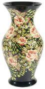 A large contemporary Moorcroft vase by Sian Leeper 'Secret Garden' circa 2004