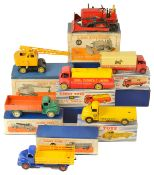 A collection of Dinky Toy vehicles