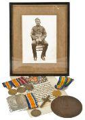 C.Q.M. SJT. W. Farquharson and PTE. A. Farquharson military medals