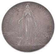 L. Hujer: A large Austrian silver 1908 Jubilee medallion,