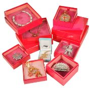 A collection of Butler & Wilson costume jewellery in original boxes