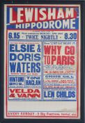 A selection of advertising ephemera posters and napkins