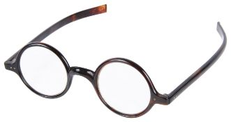A pair of C. W. Dixey & Sons tortoiseshell spectacles made for Sir Winston Churchill the full rimmed