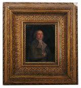 British School, 19th century a miniature portrait of Don Andres del Peral