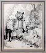 Leslie Illingworth, (Welsh 1902 - 1979) illustrator 'Gretchen and the Beast'