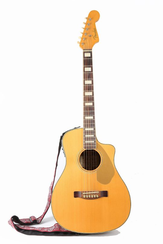 Made In China 160 A Small Body Acoustic Electric Guitar Labelled