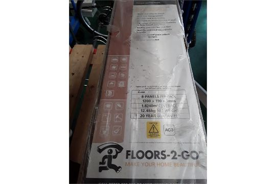 Five Packs Of Floors 2 Go The Linea Collection Menera Laminated