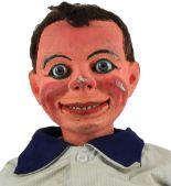 Lot 216 - Dicky Shorthouse a Davenports Ventriloquist Dummy