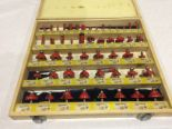 Lot 13 - A set of 50 router bits in case