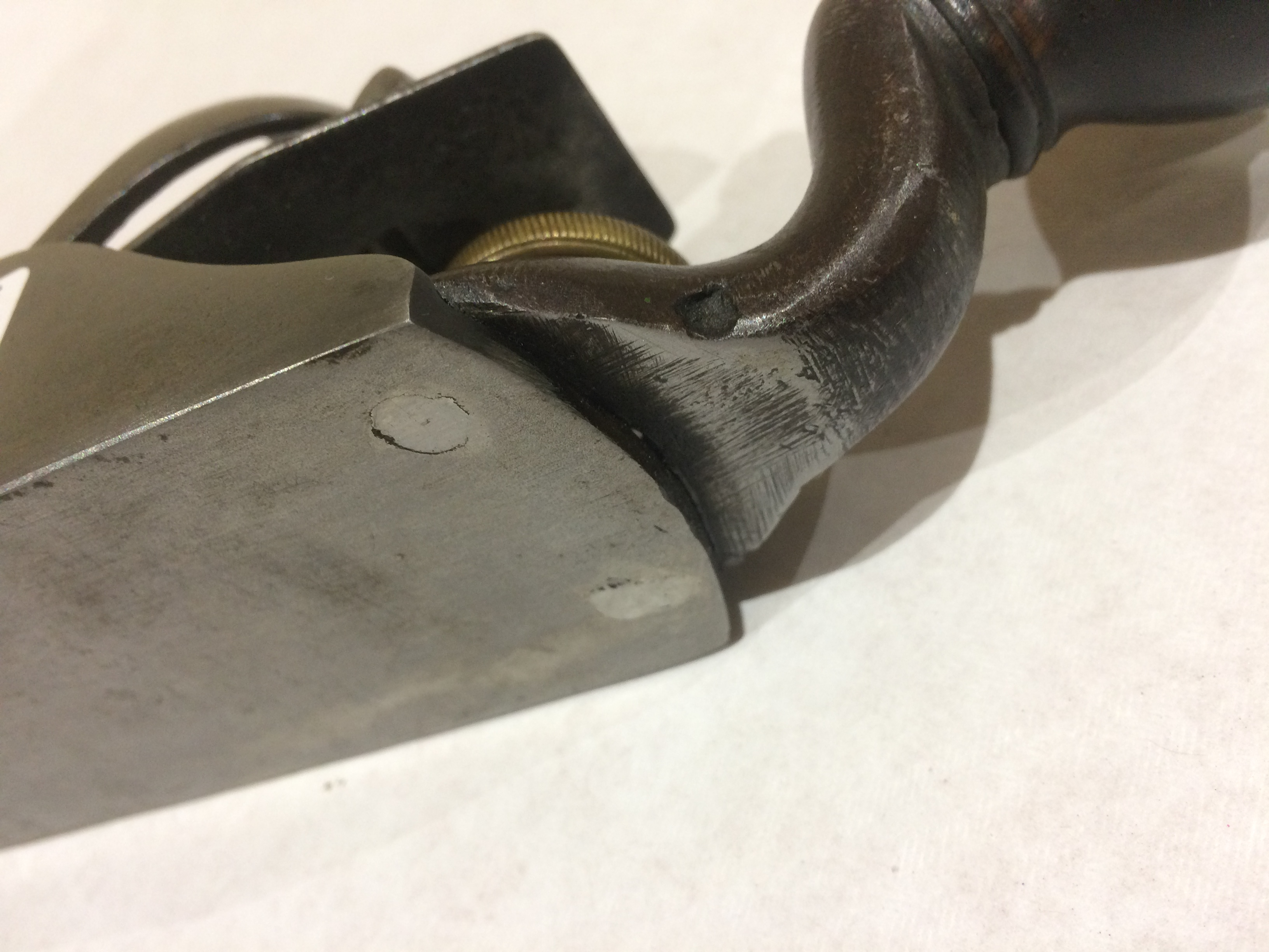 Lot 19 - STANLEY No 93/4 block plane with added handle