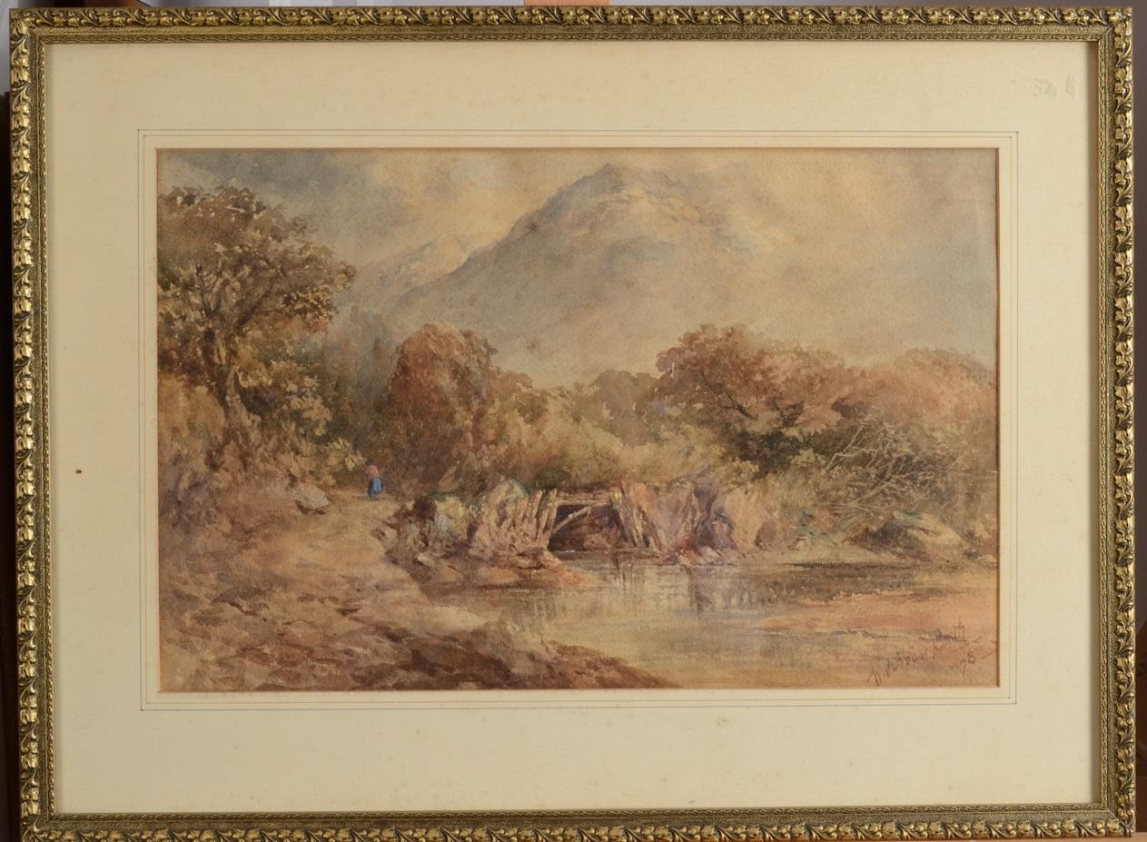 Lot 15 - Two Malay watercolours by E B Fowler,