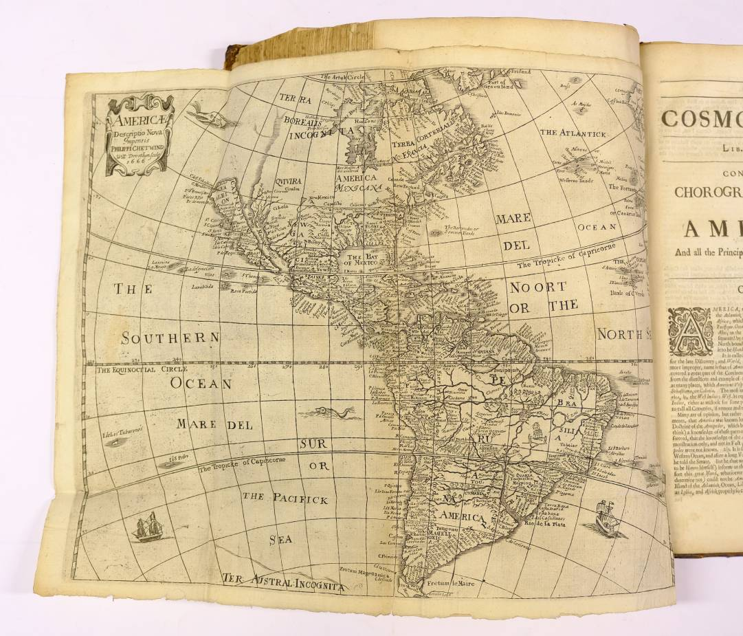 Lot 27 - Heylyn (Peter). Cosmography in Four Books. Containing the Chorography and History of the Whole