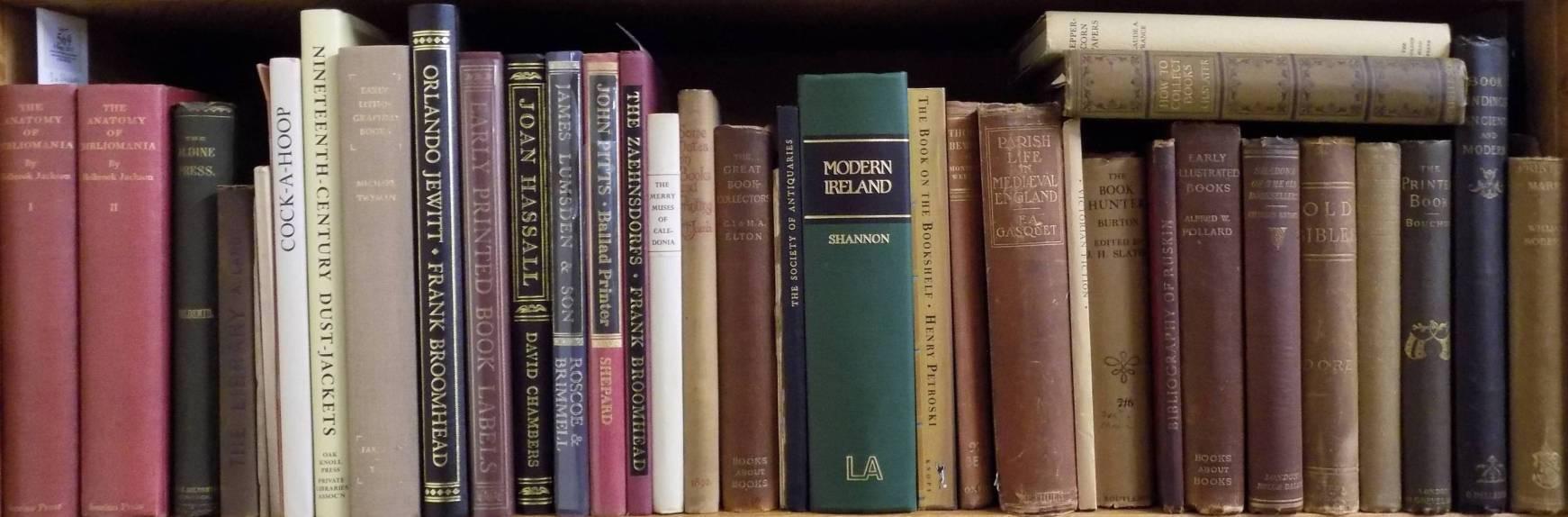 Jackson (Holbrook). The Anatomy of Bibliomania, volumes 1 & 2, The ...